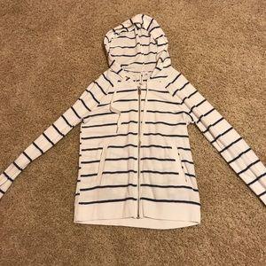 White and Blue Jacket